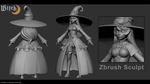 Witch - Zbrush Sculpt by viniciusfv