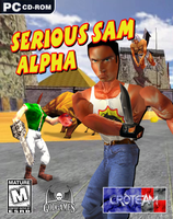 Serious Sam Alpha 2000 Game Cover (Fan-Made) by FrameRater
