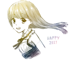 Happy 2017! by pinkpuff25