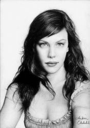 Liv Tyler - finished by freakyhedgehog