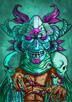 LOWEND WITCHDOCTOR ILLUSTRATION by IamAxiom