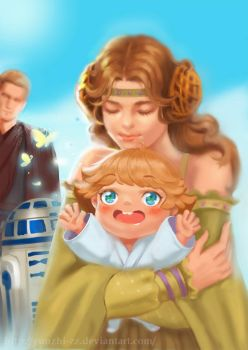 Skywalker family by yunzhi-zz