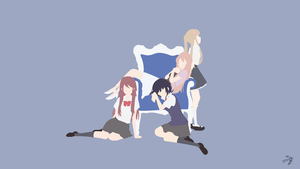 Kuzu no Honkai Minimalist Anime by Lucifer012