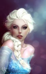 Elsa ( Frozen ) by Tannany