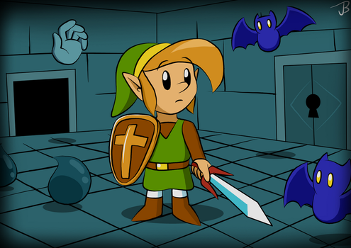 Into the Dungeon by Jdoesstuff