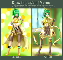 Draw this again-Sonika by CrisisNoi