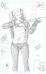 Harley Quinn Suicide Squad by RobertoCarmona