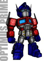 Optimus Prime by Gundamjack