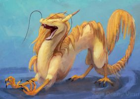 Golden One by Penny-Dragon