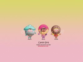 candy girls by JDe