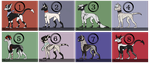 Canine Adopts Batch [7/8 open] by skoriial