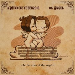 Winkcestober 2018 day 04: Angel by KamiDiox