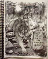 Wolves Curse by GrimmuzA