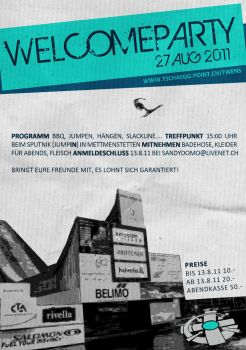 WelcomeParty by zyde