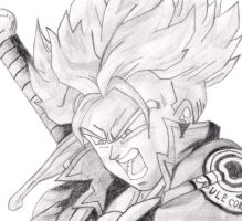 Super Saiyan Future Trunks by HuntingHorizons