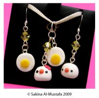 Egg + Chick Set by ChocoAng3l
