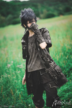 Noctis by MischAxel ph Michel Takuma by MischievousBoyAilime