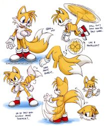 Tails doodles by rinacat