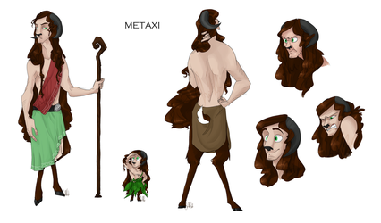 Commission: Character sheet - Metaxi by Wolf-Shadow77