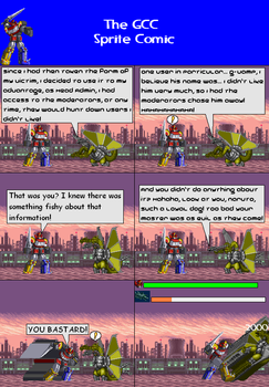 The GCC Sprite Comic 334 They Call This Chekhov's by Godzilla90sTK