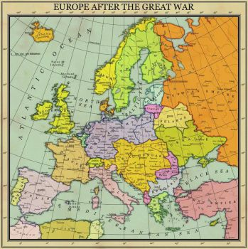 Europe After the Great War by GUILHERMEALMEIDA095