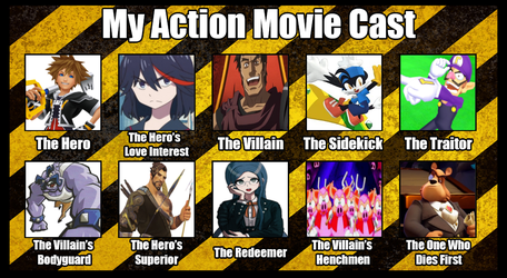 Crossover Action Movie Cast by OudieTH