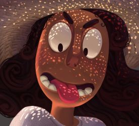 One face a day #86/365. Connie (steven universe) by Dylean