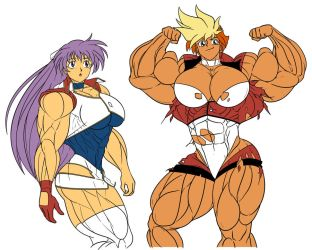 Dirty Pair Flash by Dairugger