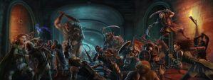 The Main Gate Slaughter by Elderscroller