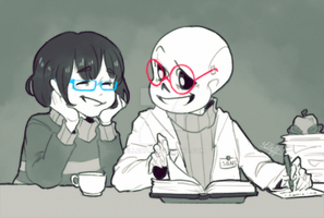 Science [Undertale] by ElleAP