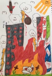 The world in a childs drawing by GameyGemi
