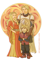 My Lions of Lannister by naomimakesart