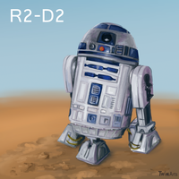 R2-D2 by Maybellez
