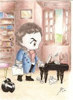 Chibi_Beethoven_piano by Stael