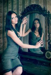 From the mirror by dem4enko