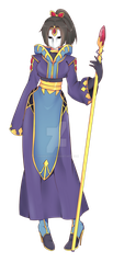 Female Mage :COMM: by shawn1013