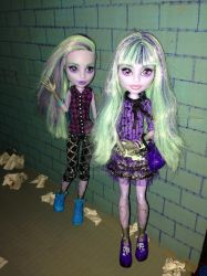 My two Twyla's by bluerage10