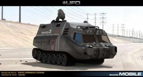 3D model from Tv show UFO by RAF-MX