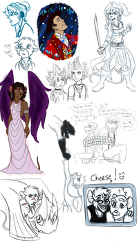 Sketchdump February 2018 by ALS123