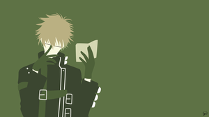 Kent (Amnesia) Minimalist Wallpaper by greenmapple17