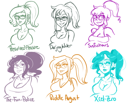 Style Meme Part 3 by SlickPens