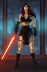 Sith Warrior (Commission) by KaRolding