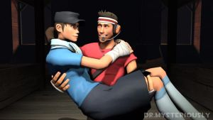 Scout Love - Team Fortress 2 by DrMysteriously