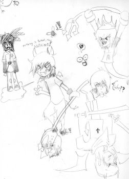 ugly drawings D: by Riku-X99