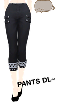 [MMD] Pants DL by UnluckyCandyFox