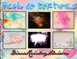Pack Textutras #01 by DianaRainbowUnicorn