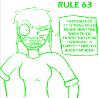Rule 63 by Dillon-the-hedgehog