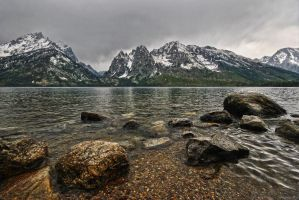 The Grand Tetons by RichardNohs