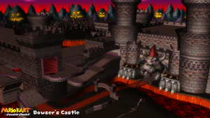 (MMD Stage) Bowser's Castle Download by SAB64