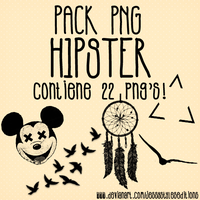Pack PNG Hipster! by JessyStylesEditions